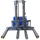 Drum Tipping Electric Stacker Trucks