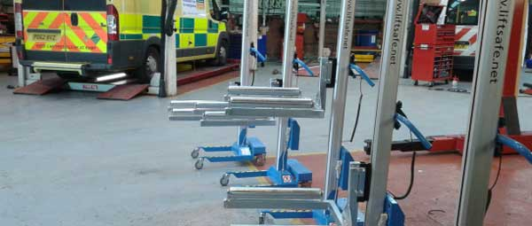 Lift Safe Gives North West Ambulance Service Two Lifting Solutions