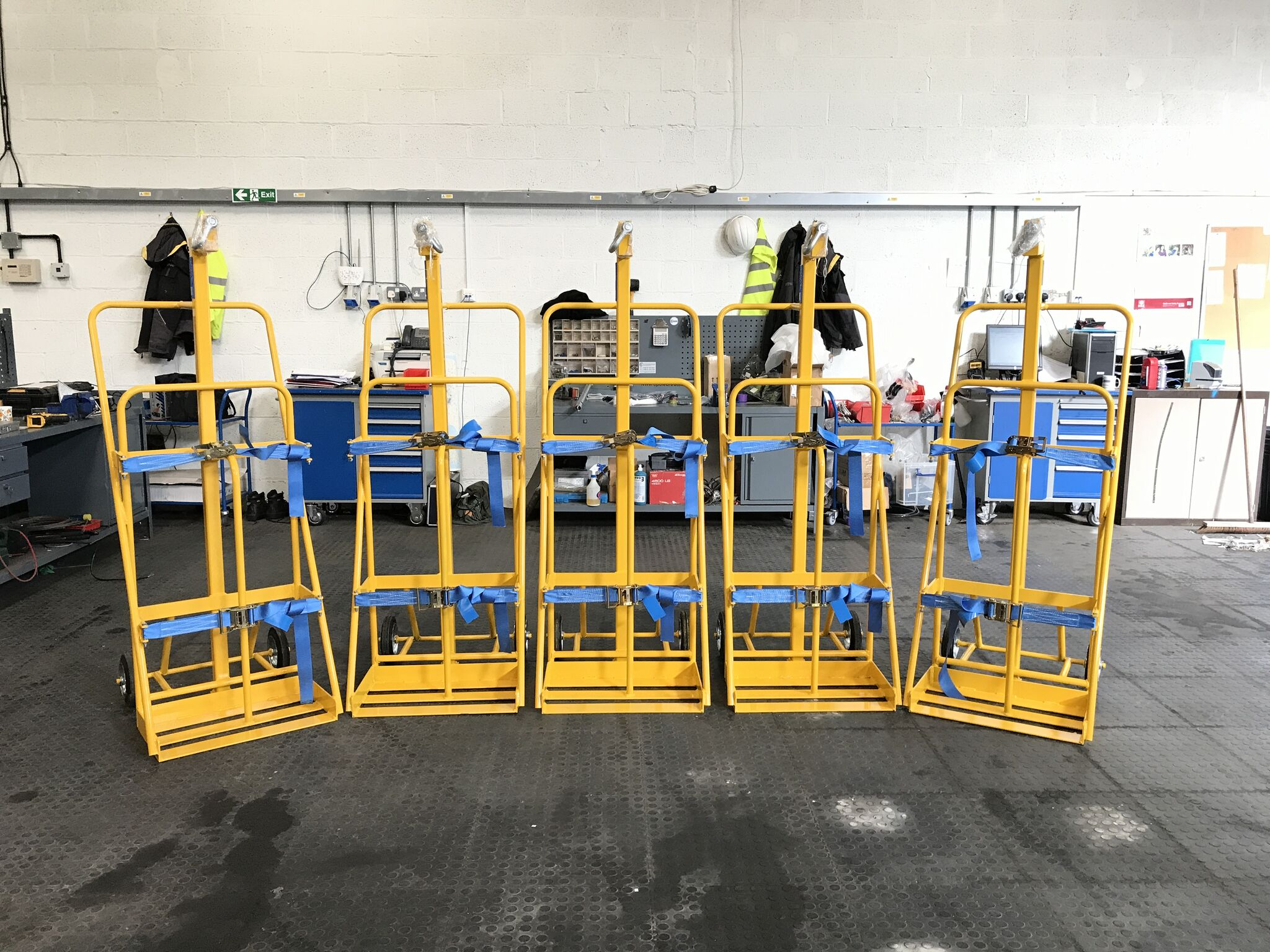 Lift Safe Supplies Cylinder Lifting Equipment To A Repeat Customer