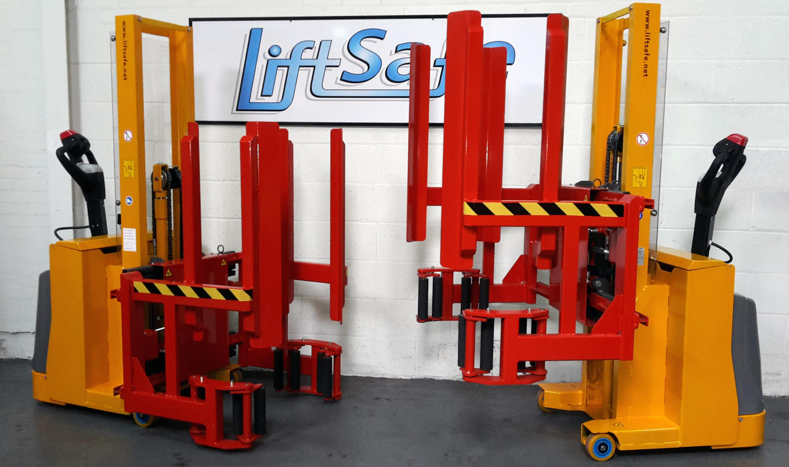 Lift Safe Supply Local Pharmaceutical Company With 2 Fully Bespoke Fully Powered Stackers