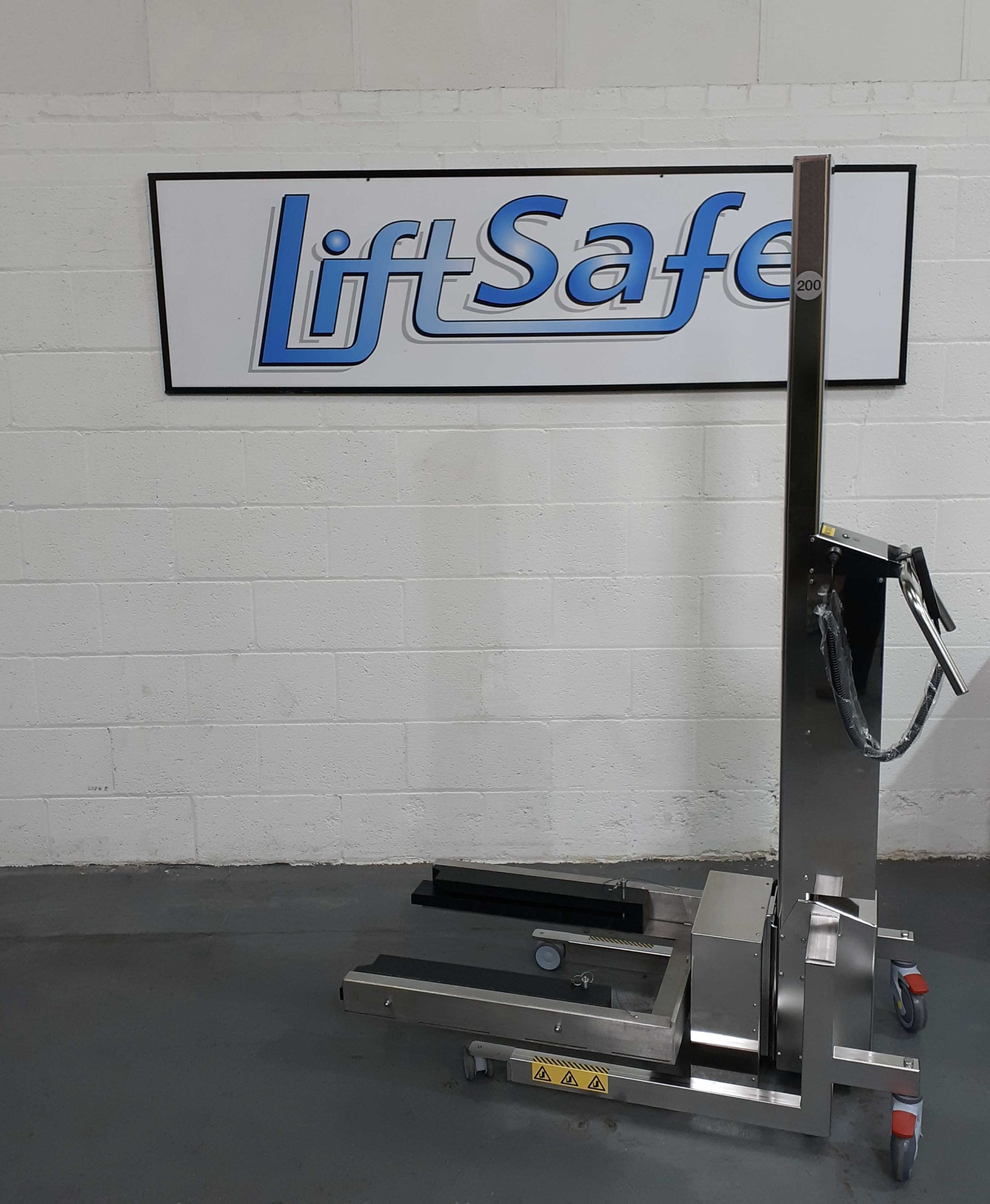 IP66 Battery Powered Lifter Supplied To Leading Industrial Laser Manufacturer