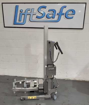 Lift Safe Supply Battery Operated Lifter With Squeeze and Turn Attachment