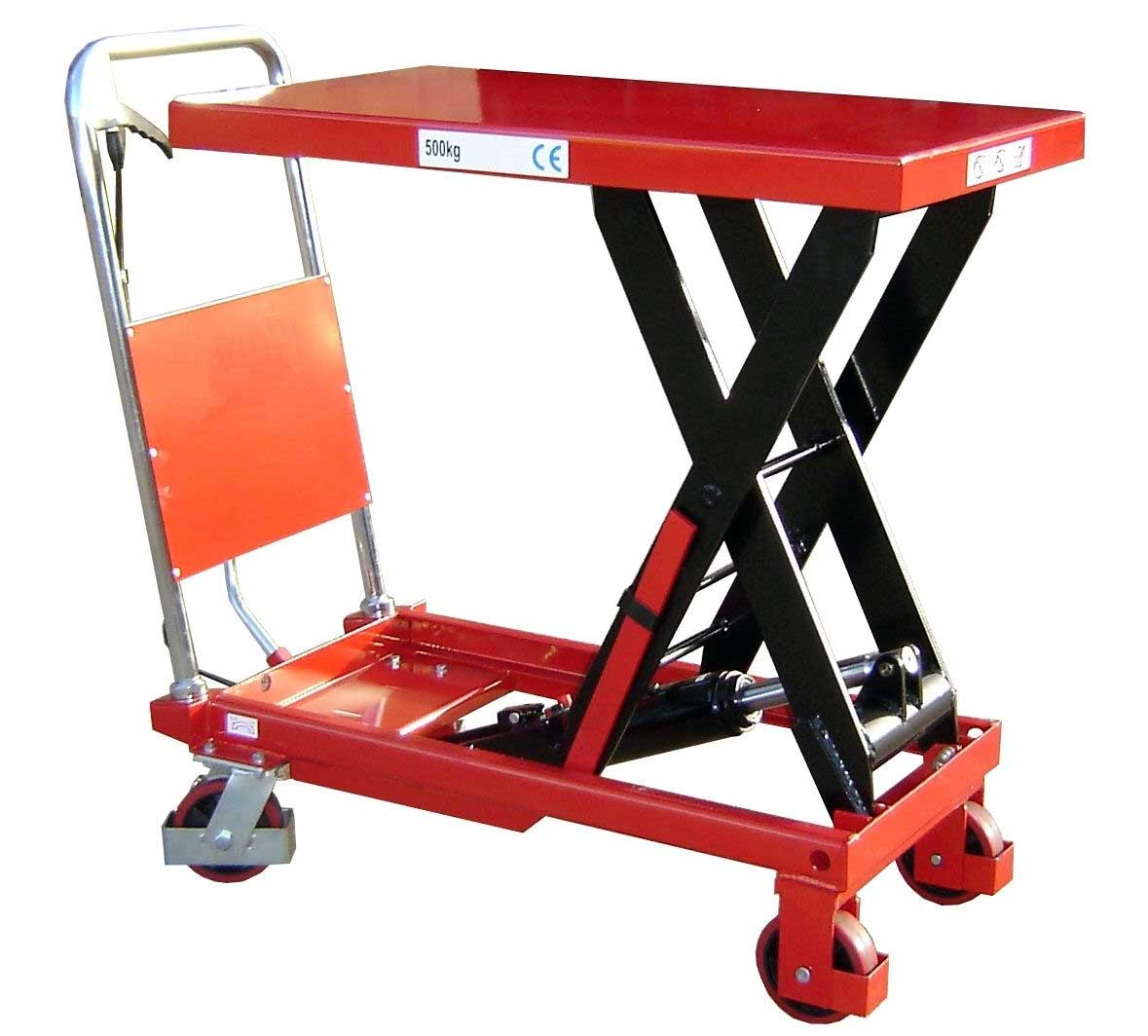 Midlands Based Engineering Company Take Delivery Of Heavy Duty 500 kg Mobile Scissor Table