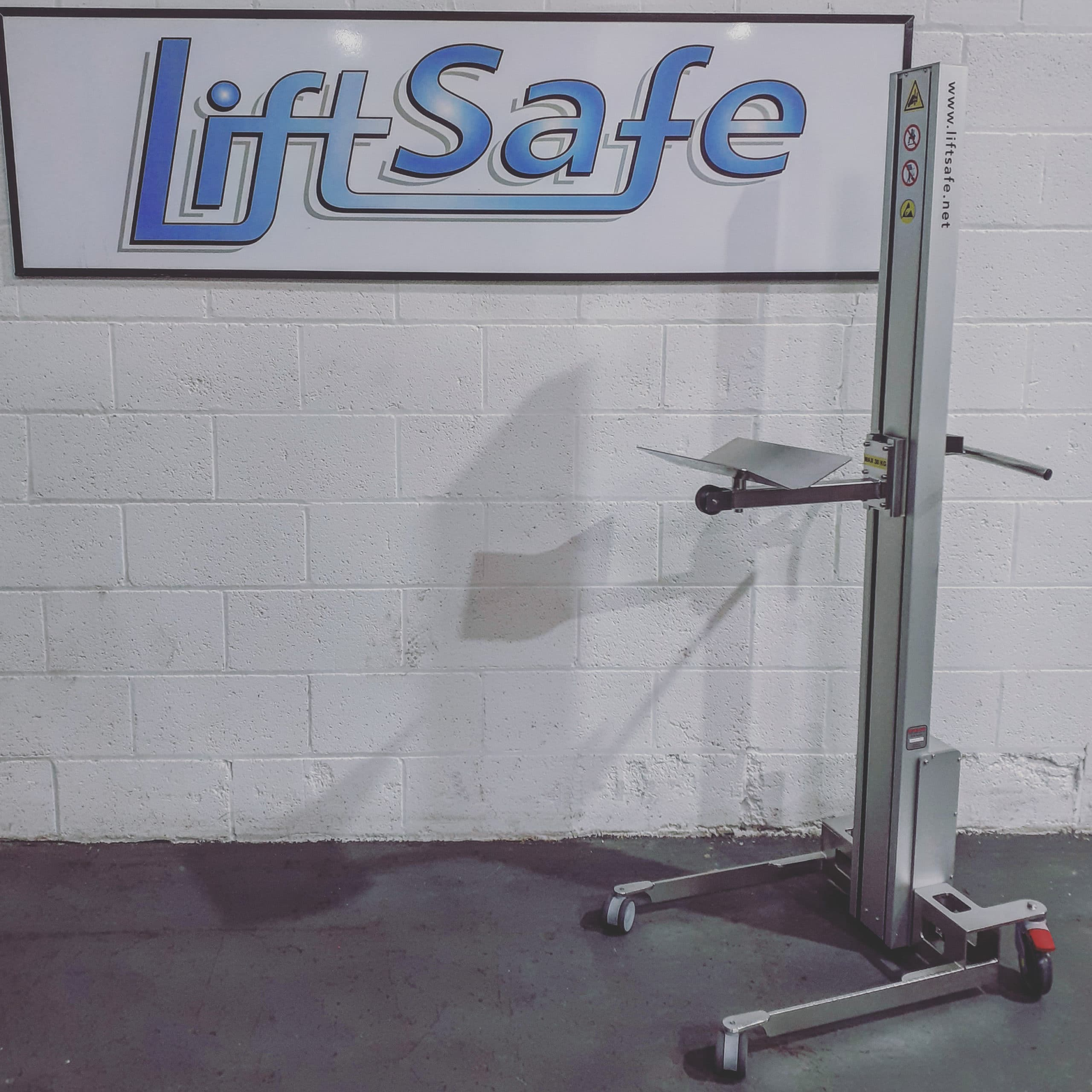 Scottish based pharmaceutical company takes delivery of LSH70 stainless steel lifter from Lift Safe