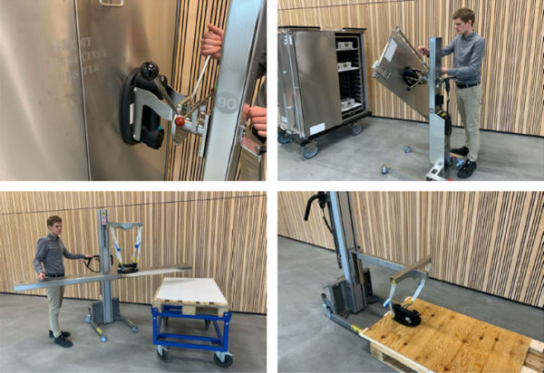 mobile lifter vaccum